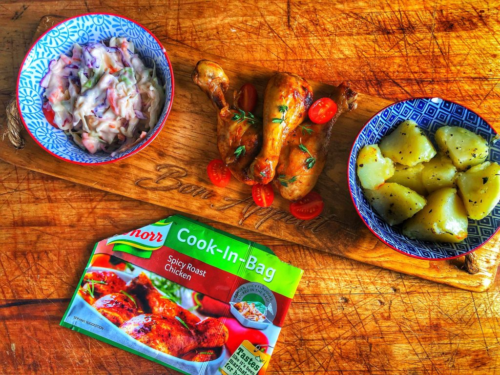 Knorr Spicy Roast Chicken Drumsticks Recipe The Average South African